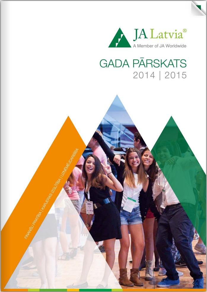 Junior Achievement Latvija gada pārskats 2014./2015.