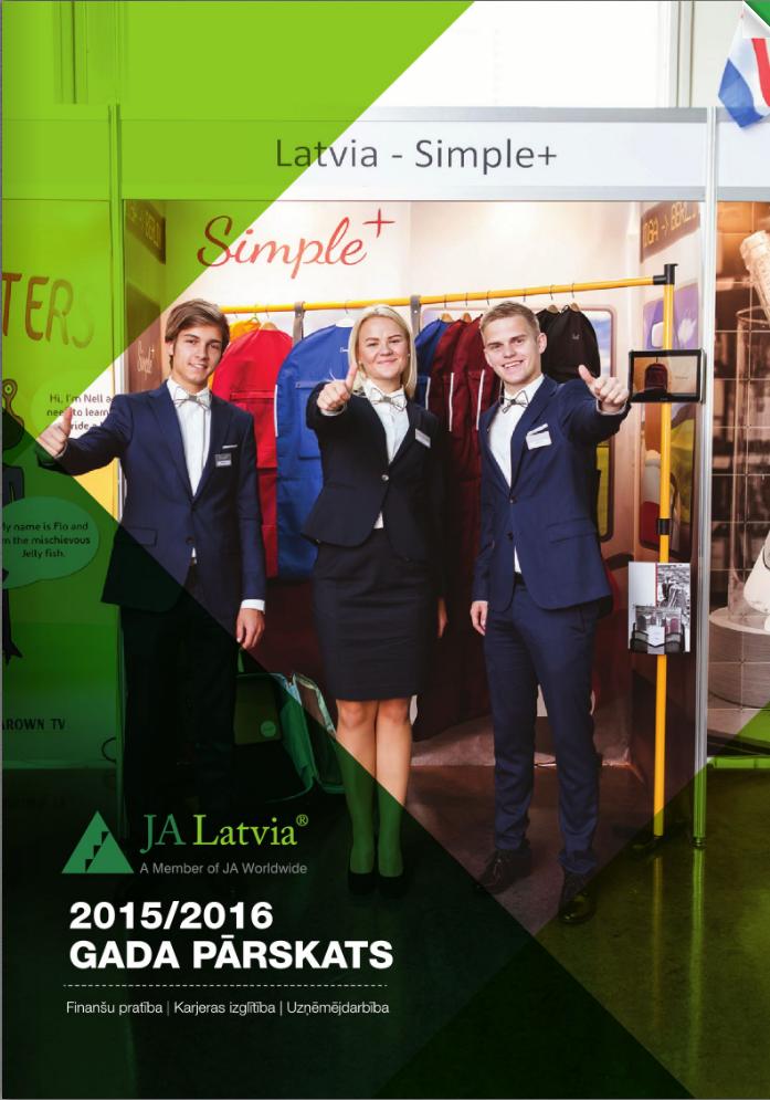 Junior Achievement Latvija gada pārskats 2015./2016.